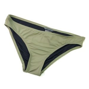 vince camuto olive green bikini bottom